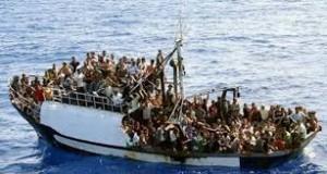 Boot vluchtelingen